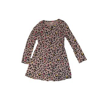 Cat & Jack Girls Leapord Dress Size 7/8